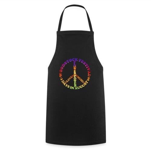 Peacezeichen FlowerPower - Kochschürze