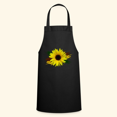 Sonnenblume, Sonnenblumen, Blume, floral, blumig - Kochschürze