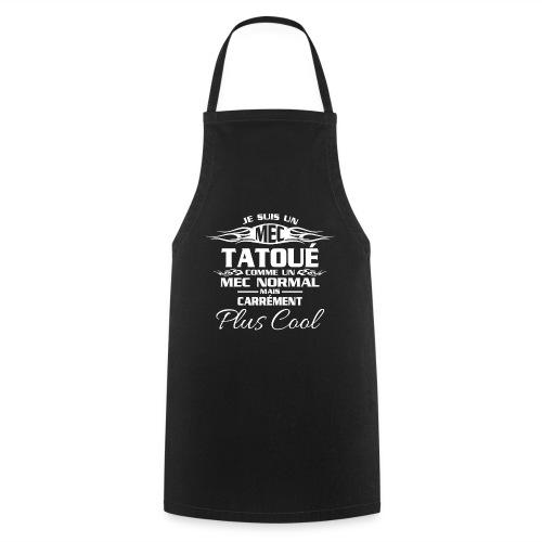 MEC tatou blanc - Tablier de cuisine