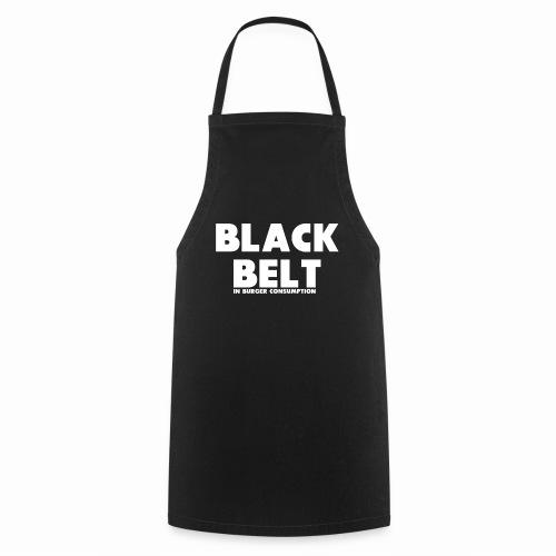 Black Belt In Burger Consumption - Cooking Apron