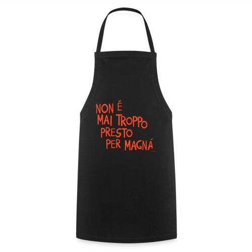 Tempo per mangiare - Grembiule da cucina