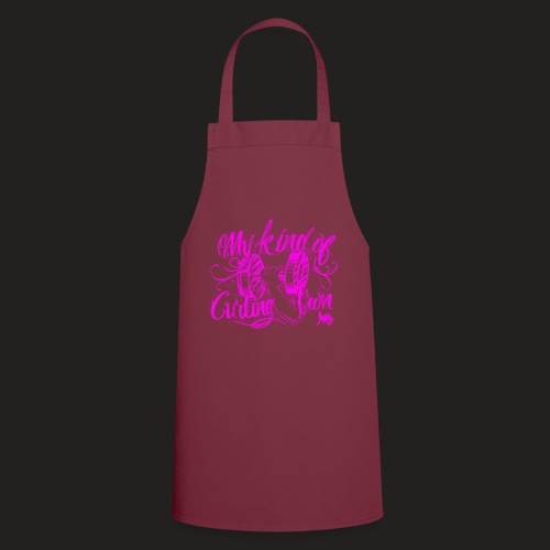 CURLING PURPLE.png - Cooking Apron