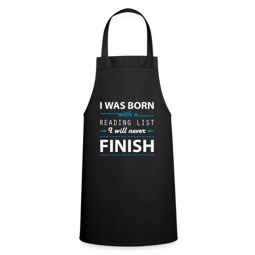 0192 Leseliste | Buchliste | Bücher | Buchwurm - Cooking Apron