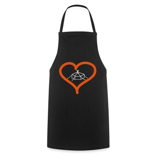 Herzjurte - Kochschürze