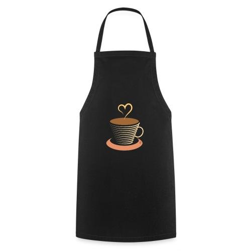 0251 Coffee | Coffee lovers | coffee pot - Cooking Apron