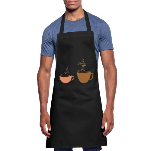 0254 Tea or coffee? That is the question! - Cooking Apron