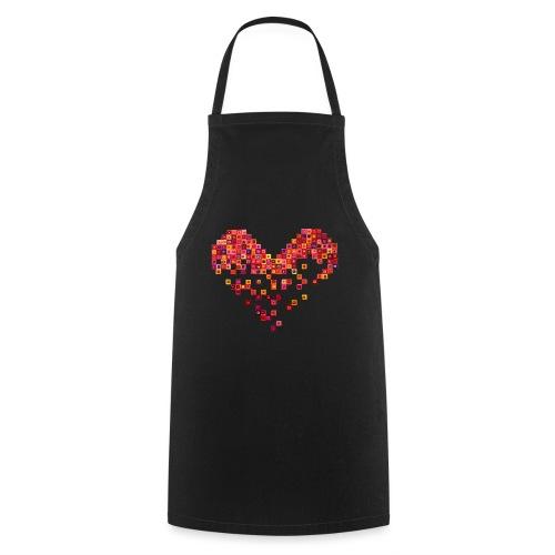 Broken Heart - Gebrochenes Herz - Kochschürze