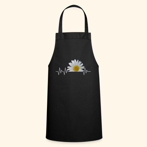 Margerite, Herzschlag, Gänseblümchen, Pulsschlag - Kochschürze