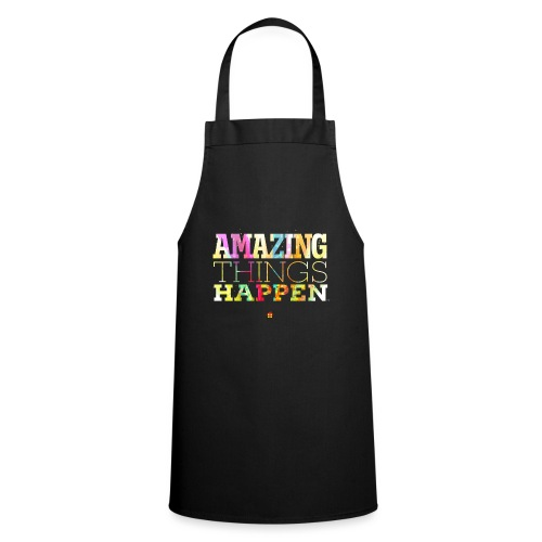 Amazing Things Happen - Simplified - Cooking Apron