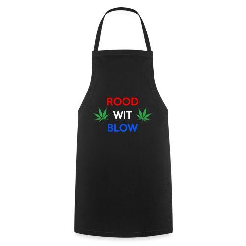 Rood Wit Blow - Keukenschort