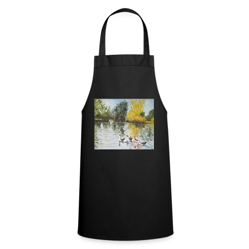 Geese on the lake - Cooking Apron