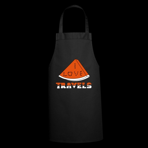 I LOVE TRAVELS FRUITS for life - Cooking Apron