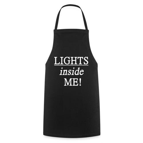 Lights inside me! weiß - Kochschürze