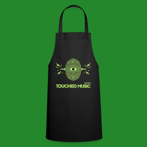 Touched Logo Orange and Navy - Cooking Apron
