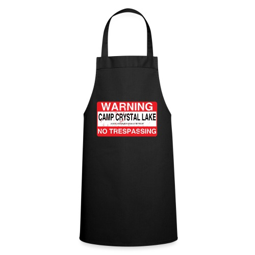 Camp Crystal Lake No Trespassing - Tablier de cuisine