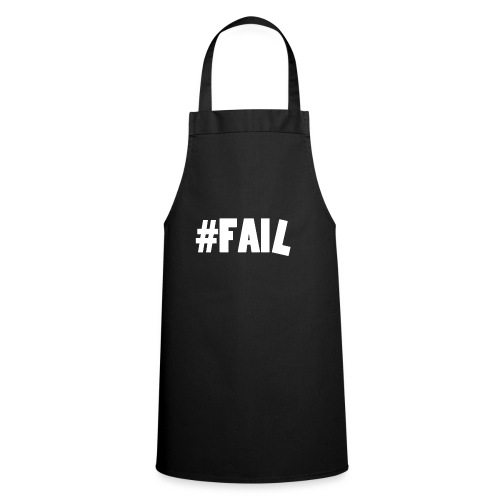 FAIL / White - Tablier de cuisine