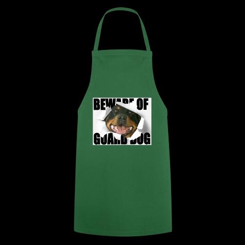 beware of guard dog - Cooking Apron