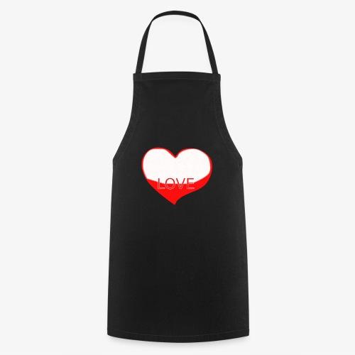 Love1 - Delantal de cocina