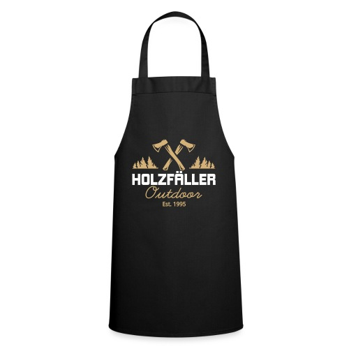Holzfaeller Lumberjack Waldarbeiter Shirt Geschenk - Kochschürze