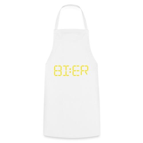 Bier Vier 4 Arbeit Baustelle Shirt Geschenk - Kochschürze