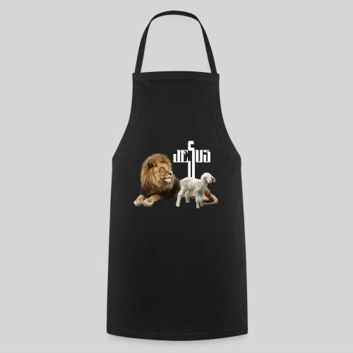 Jesus der Löwe und das Lamm - Kochschürze