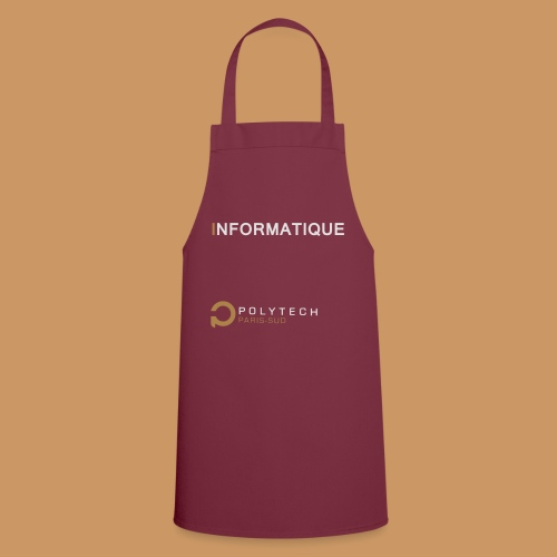 Motif Polytech jog info - Tablier de cuisine