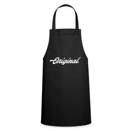 Original Lettering [White] - Cooking Apron
