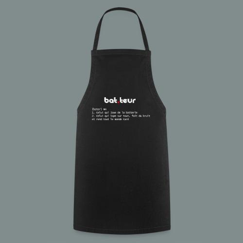 Définition du batteur white - Tablier de cuisine