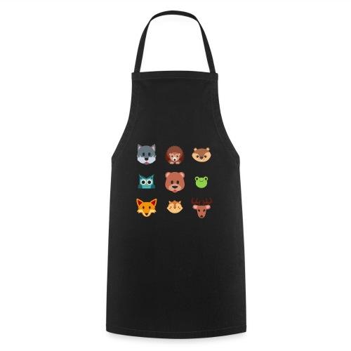 Les animaux de la forêt - Tablier de cuisine