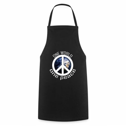 One World, One Peace - Kochschürze