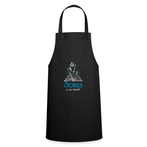 Stories In Our Thoughts - White - Cooking Apron
