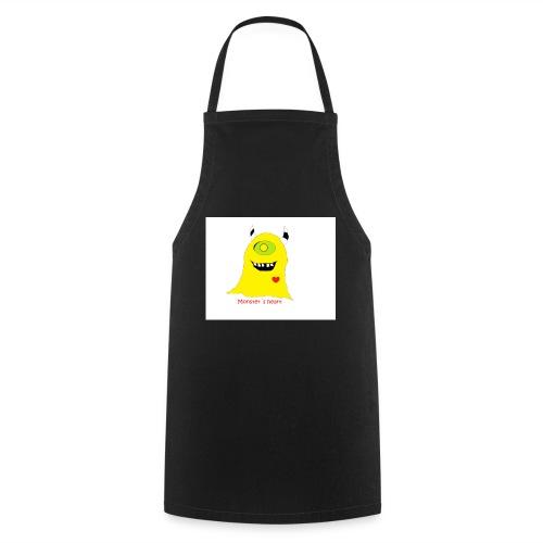 monster mit herz - Kochschürze