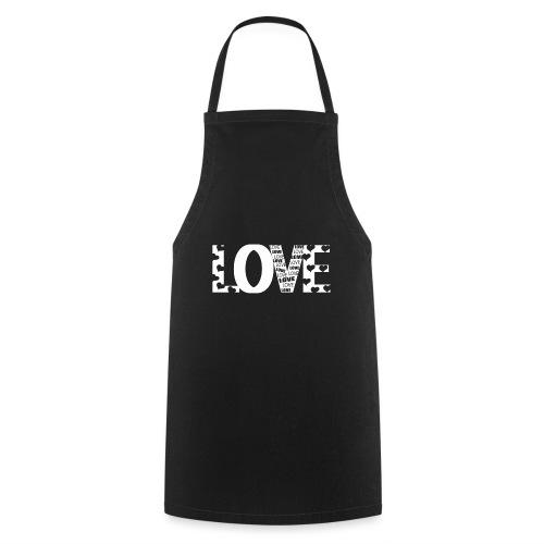 Love mit Herzchen - Kochschürze