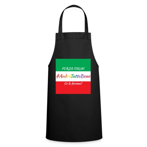Andrà Tutto Bene su Bandiera Italiana - Grembiule da cucina