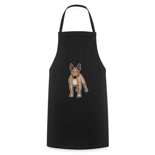 Bullterrier, Hund, Comic - Kochschürze