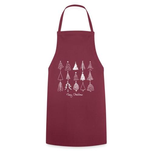 Merry Christmas Sapins de Noël - Tablier de cuisine