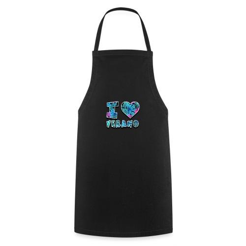 I Love Verano - Delantal de cocina