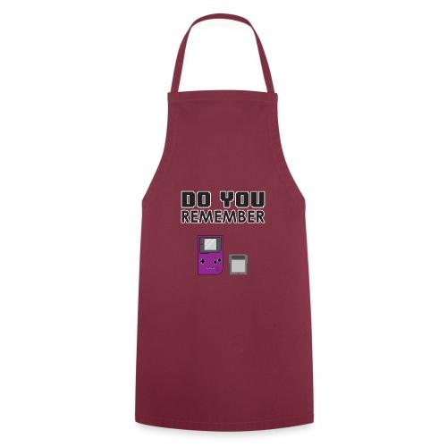 do you remember t-shirt design - Tablier de cuisine