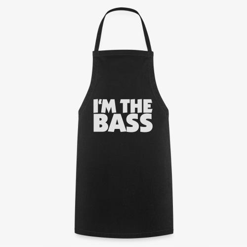 Im the Bass 2 (Weiß) - Kochschürze