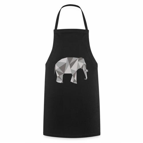 elephant géométrique - Tablier de cuisine