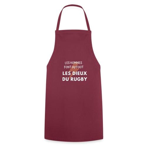 Rugbyman - Tablier de cuisine