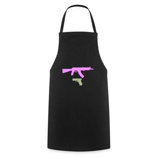 PINK GUN - Fartuch kuchenny