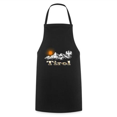 Tiroler Berge - Kochschürze