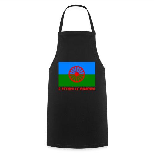 o styago le romengo flag of romani people t-shirt - Grembiule da cucina