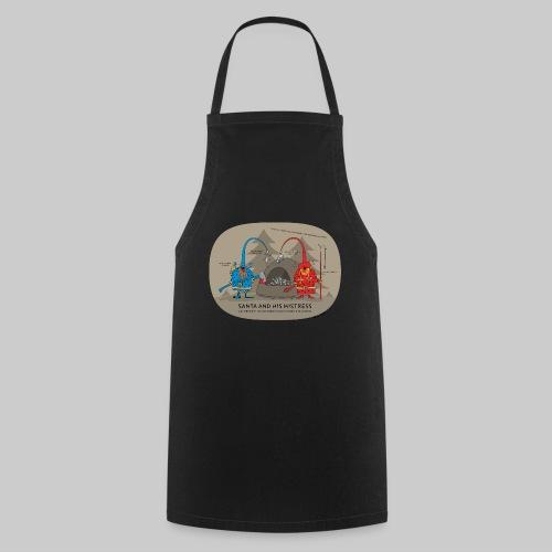 VJocys Santa Blue - Cooking Apron