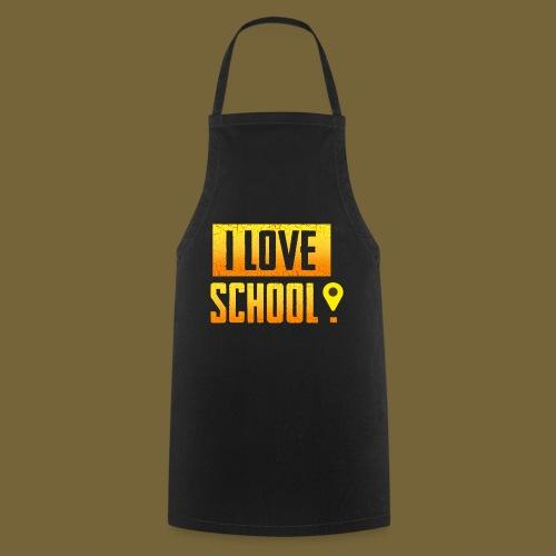 i love school - Kochschürze