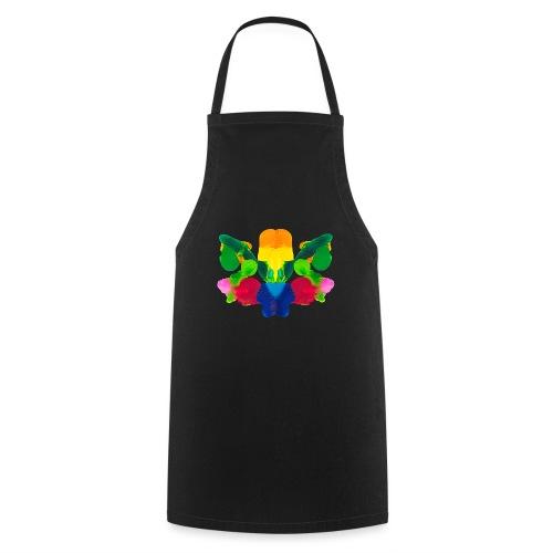 Tintenklecks zur Inspiration - Kochschürze