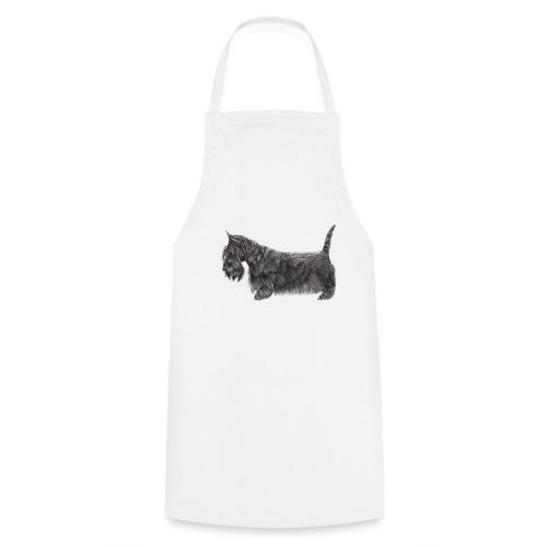 skotsk terrier ub - Forklæde