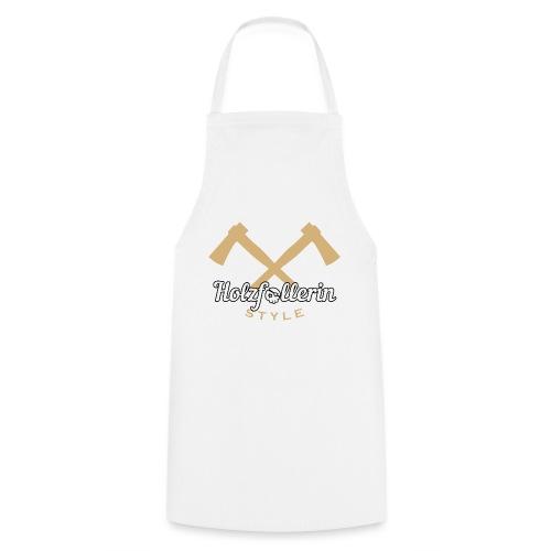 Holzfällerin Style Waldarbeiterin Shirt Geschenk - Kochschürze