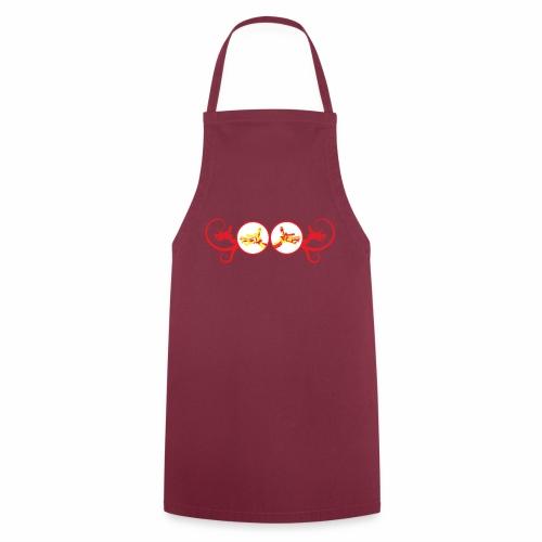 Red Unicorn Dragon - Cooking Apron